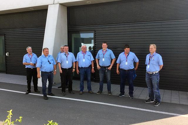 Gruppenfoto Busfahrer