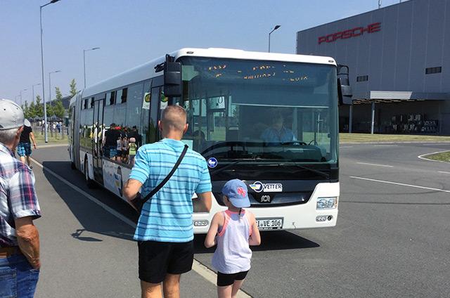 Bus am Proschewerk