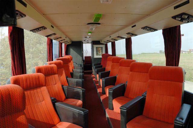 Alter Mercedes Bus Sitze